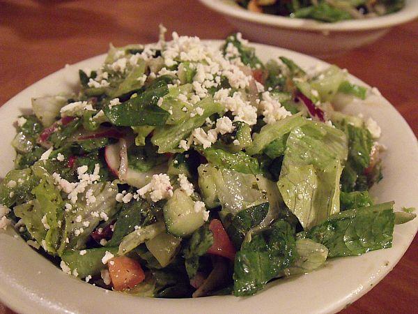 Stonefire Grill Greek Salad