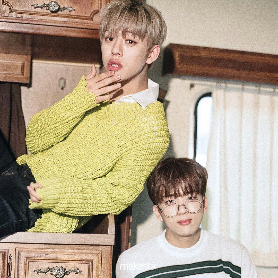 "BAP Daehyun and Youngjae makestar ""choose your favorite ..."