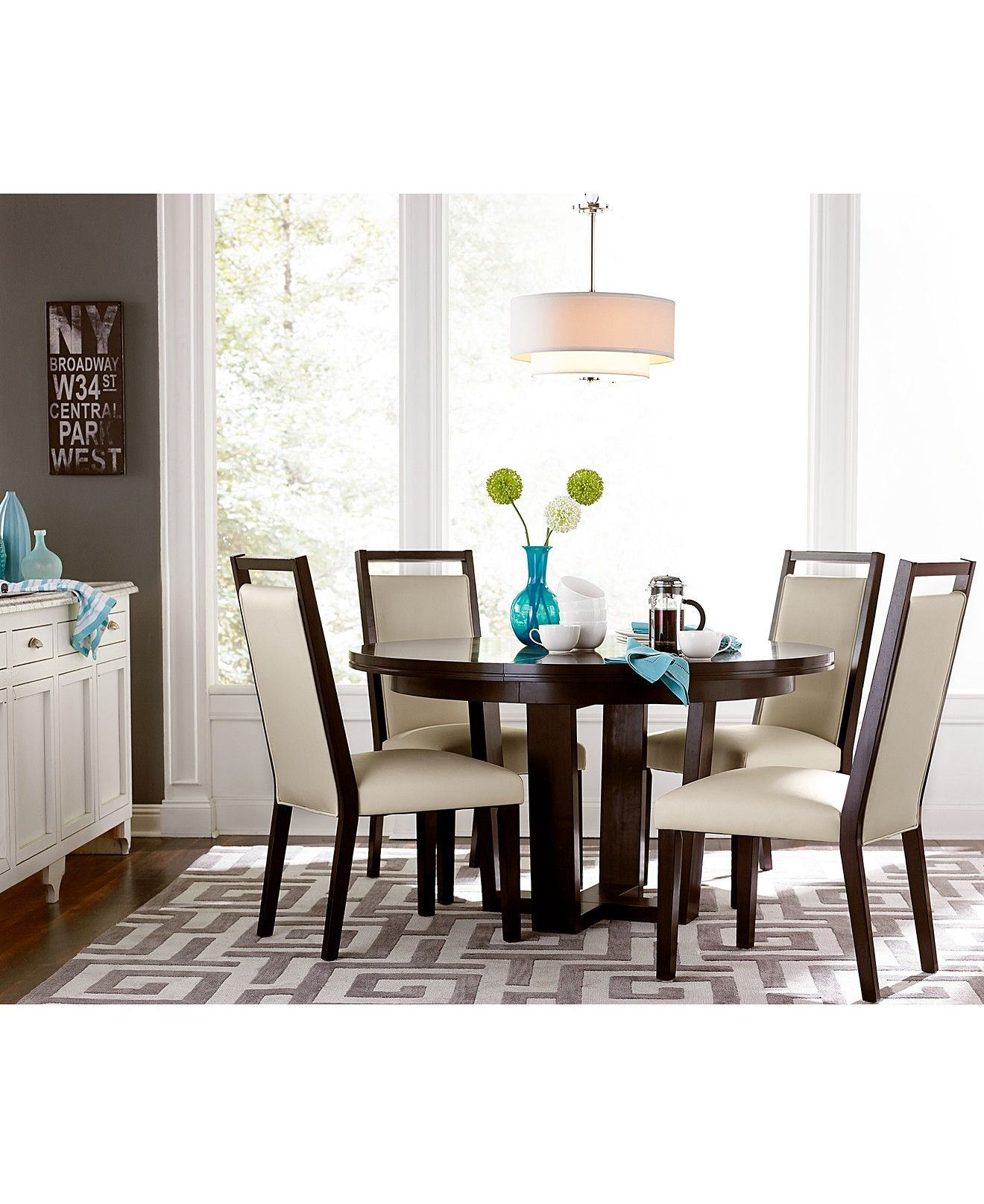 Belaire Round Dining Colleciton Dining Room Collections