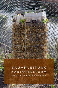 Photo of Bauanleitung Kartoffelturm – Kartoffeln ernten auf wenig Raum