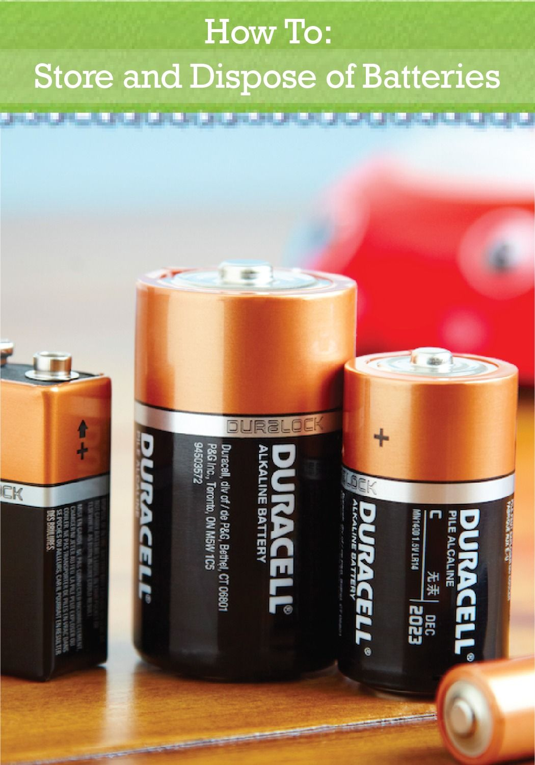 Keep your batteries alive longer with these simple storage