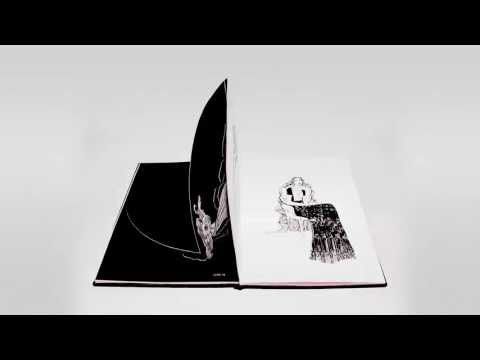 Stop motion animated pop up cookbook for Viktor & Rolf SS13 by Hannah West.