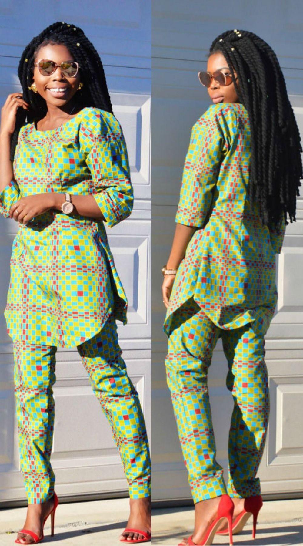~DKK ~African fashion, Ankara, Kitenge, African women ... Ankara Print Men