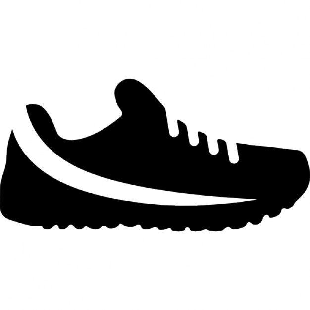 Download Trail Running Shoe For Free Stensil