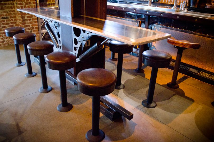 Kitchen Counter Chairs Cape Town: Fixed Bar Stools- Not Like This But Fixed...