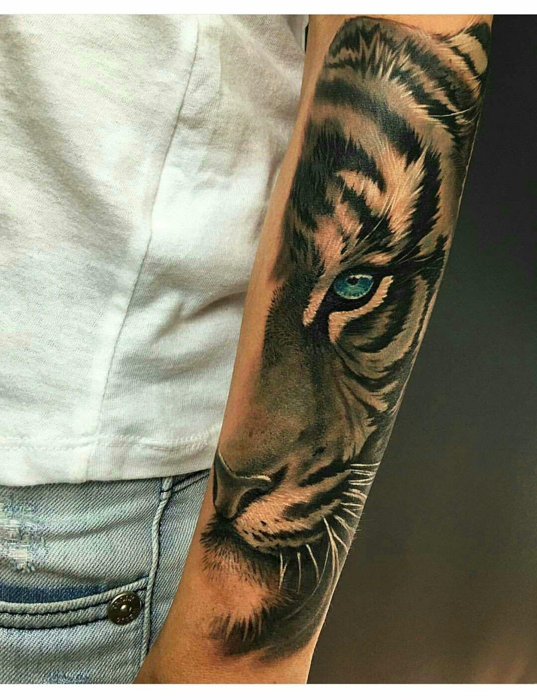 33+ Tatouage tigre avant bras homme trends