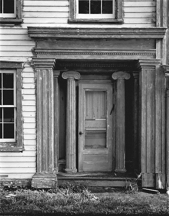 Front door of the Blenheim House Hotel Patchin Hollow from  Time Wearing Out Memory & Front door of the Blenheim House Hotel Patchin Hollow from