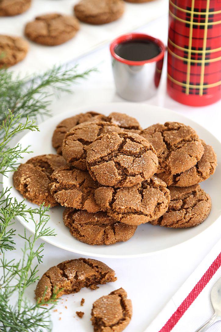 Smoked Brown Sugar Gingersnaps | Galleta, Pastelitos y Postres