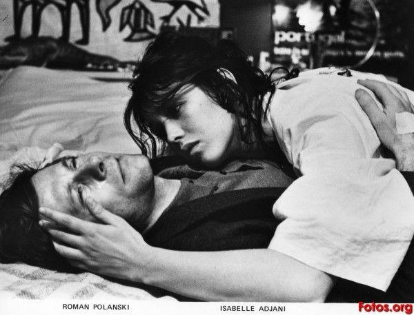 Roman Polanski and Isabelle Adjani, The tenant, 1976