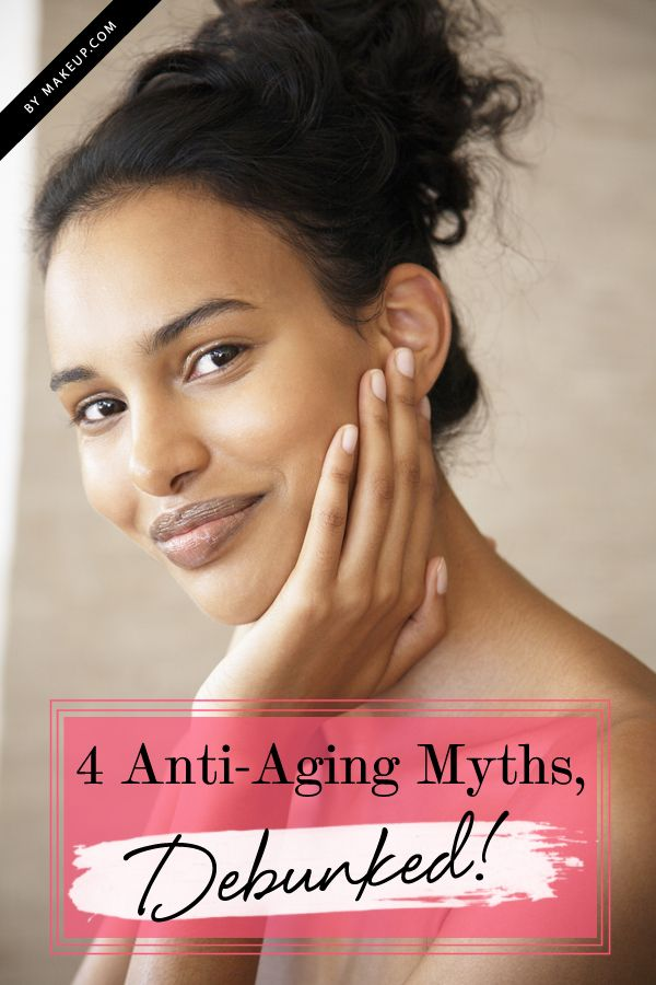 Beauty Fact or Fiction: 4 Common Anti-Aging Myths, Debunked!- Some really useful information on skin care!!