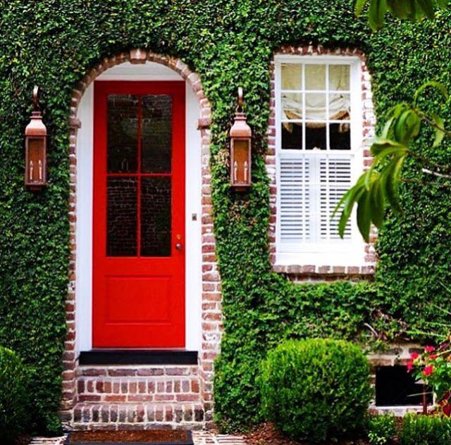Green Wall, Red Door, Interior