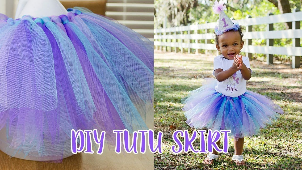 how to make a baby tutu skirt