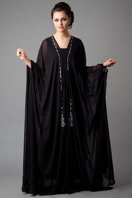she9 Para Niñas Fshions: Designer Embroidered Abaya Collection 2013-2014 | New Abaya Collection