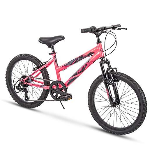 Amazon Com Huffy Kids Hardtail Mountain Bike For Girls Summit