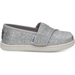 Photo of Toms Shoes Silver Mica Classics For Toddlers – Size 28.5 TomsToms