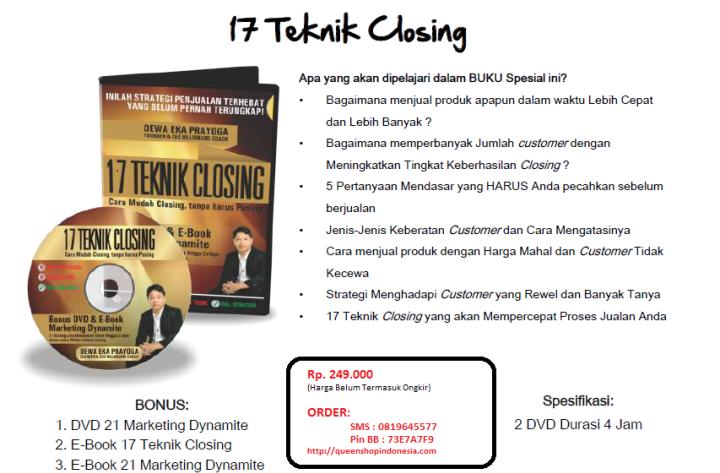 17 Teknik Closing 3