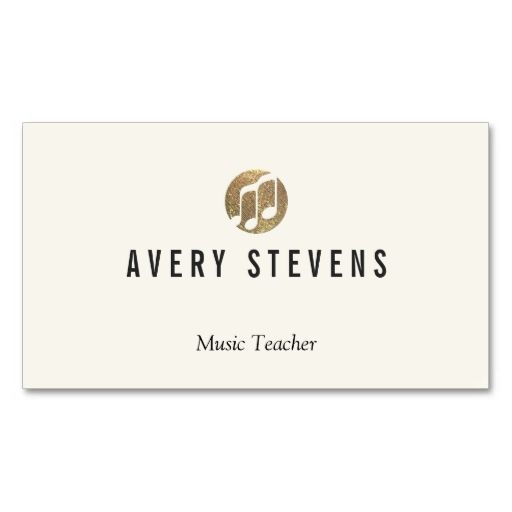 Music teacher music notes musician double sided standard business music teacher music notes musician double sided standard business cards pack of accmission Images