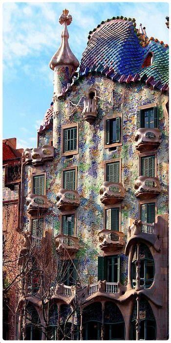 Casa Battlo Barcellona  Luoghi da visitare barcellona nel