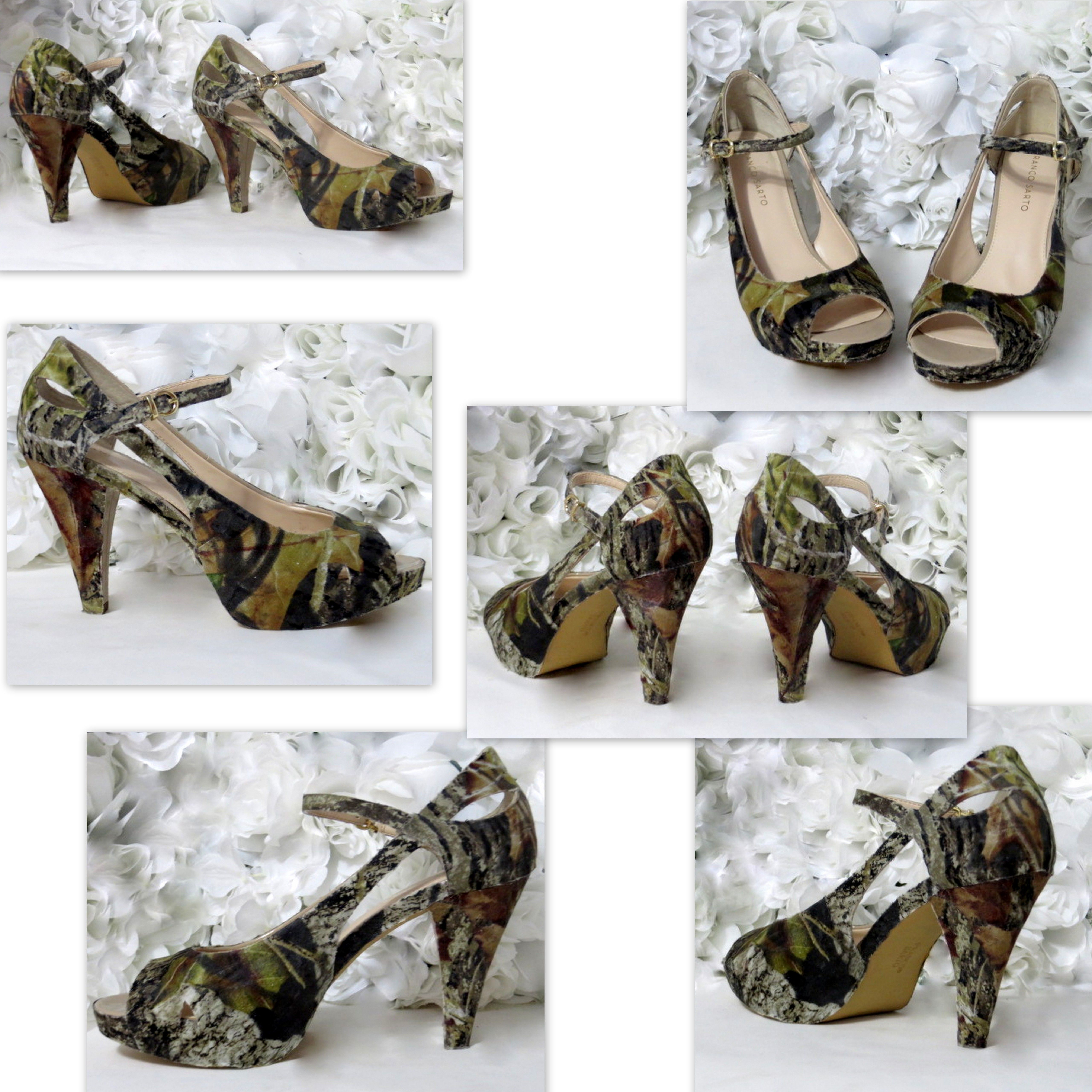 Thank You Amber M From Carson Va For Your Custom Order Mossy Oak Camo Wedding Shoes Your Business Is Greatly Wedding Shoes Camo Wedding Custom Wedding Shoes