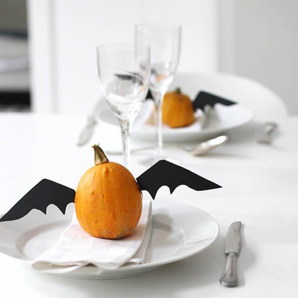 10 Inspirações Criativas Decorar a Mesa para o Halloween   Mesas ...