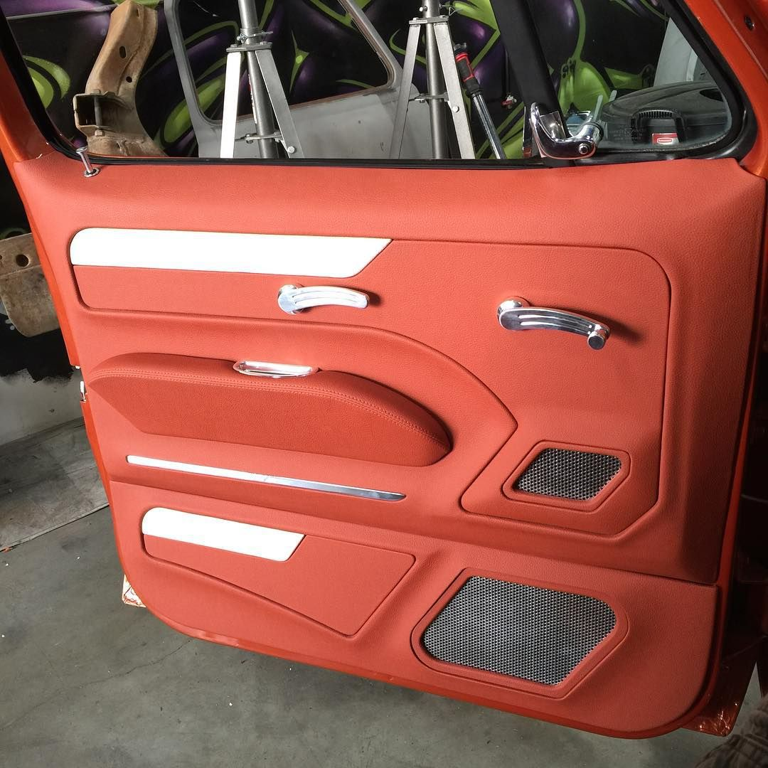 1966 Ford F100 Interior Door Panels