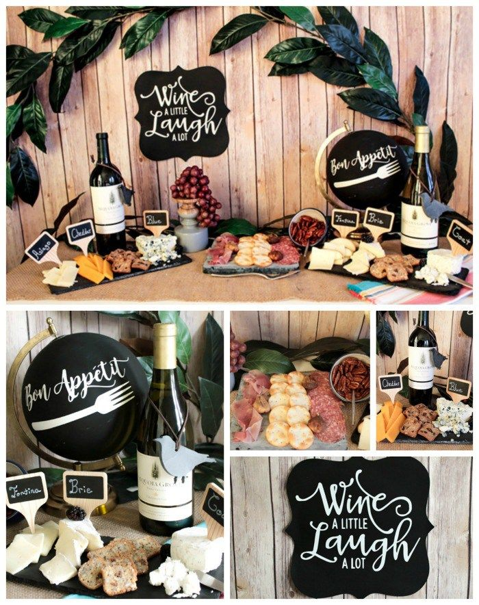 Throw A Fabulous Wine And Cheese Party