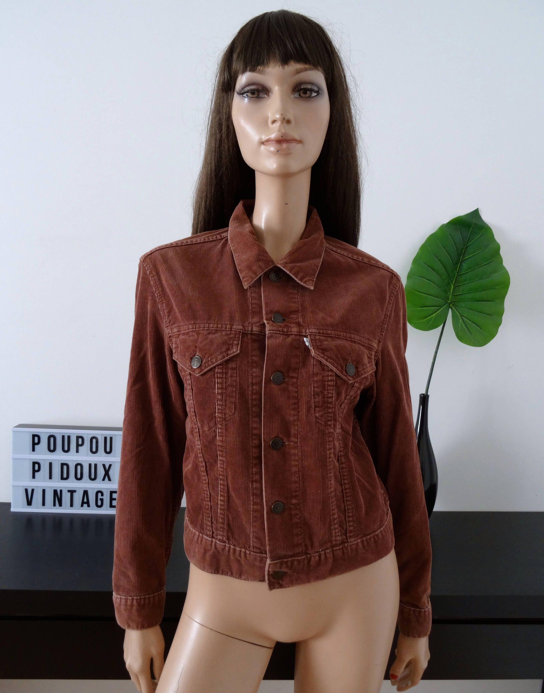 veste velour cotelé levis woman