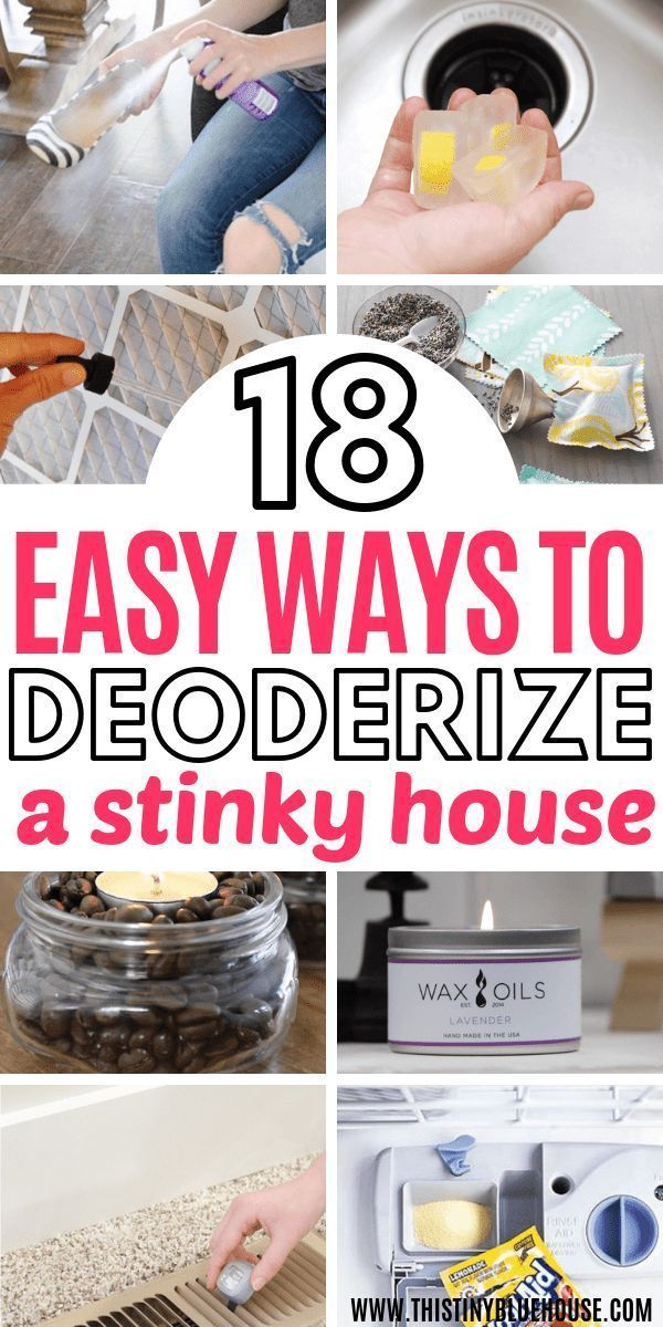 Trying to get the stink out of your house? Here are 18 genius affordable ways to make your house smell amazing with very little effort.