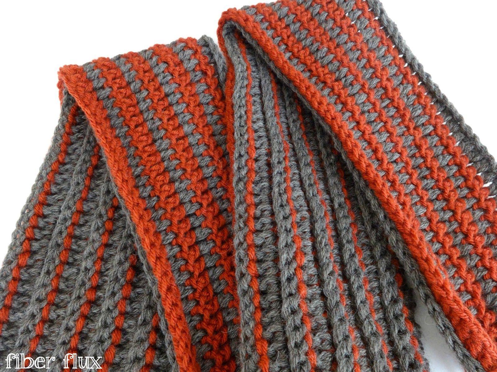 Free Crochet Pattern...The Every Man Scarf | Men scarf, Easy stitch ...