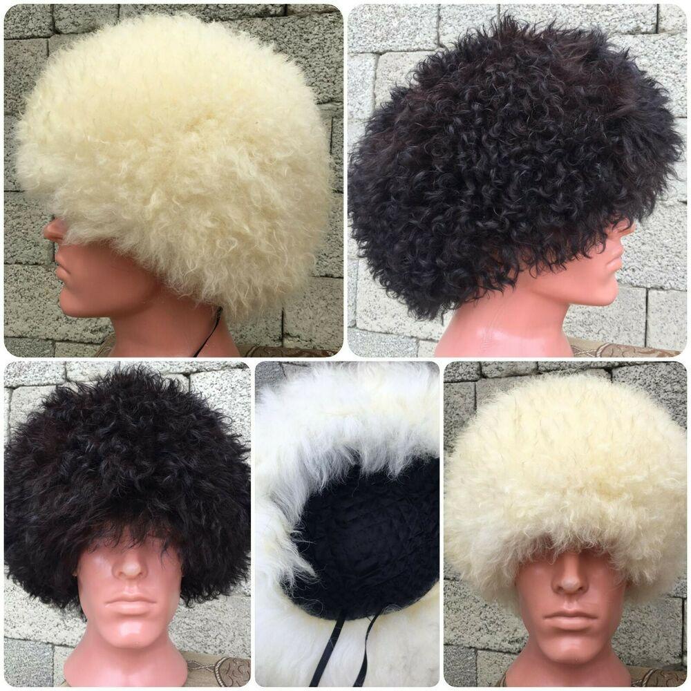 Papakha UFC Khabib SHEEP Fur Hat
