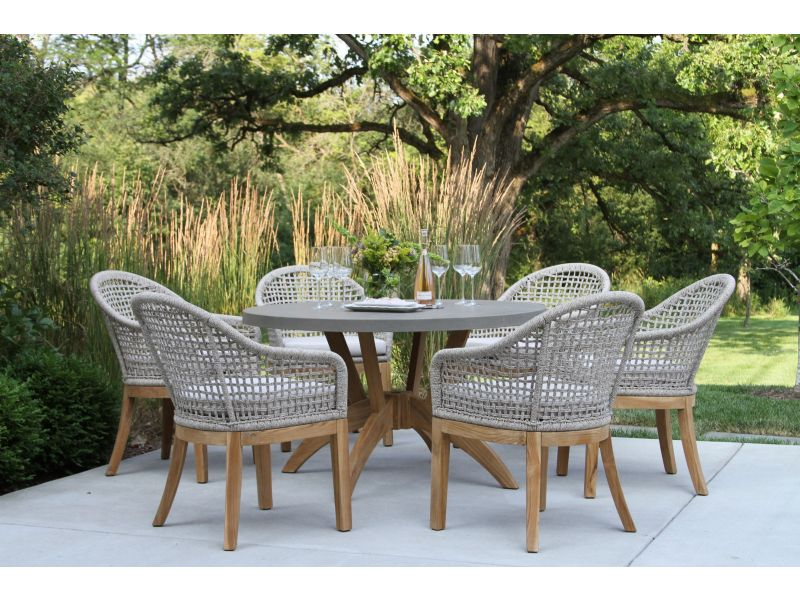 Patio Dining Table, Round Patio Table Set