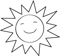 Resultado De Imagen Para El Calor Para Colorear Sol Para Colorear Dibujo De Sol Dibujos Para Colorear