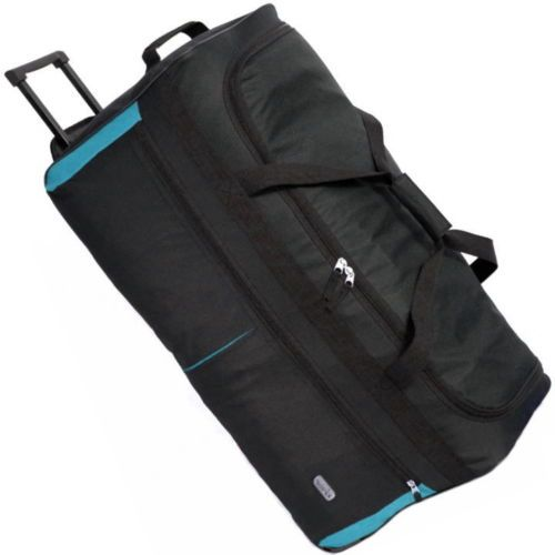 Details about Extra Large XXL Travel Luggage Wheeled Trolley ...