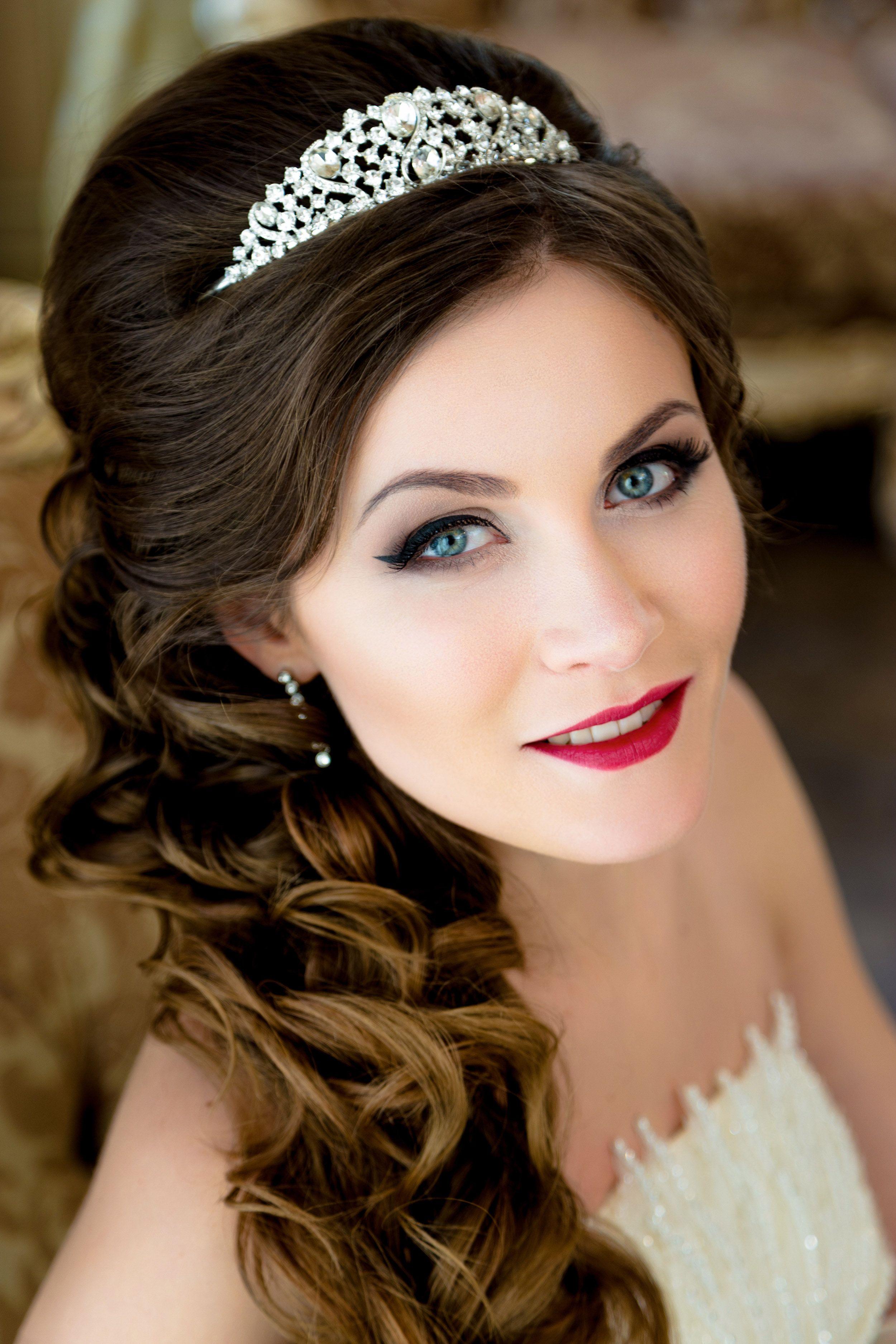 Súper fácil peinados bonitos para boda Fotos de cortes de pelo Consejos - Peinado con ondas para una boda. | Short wedding hair ...