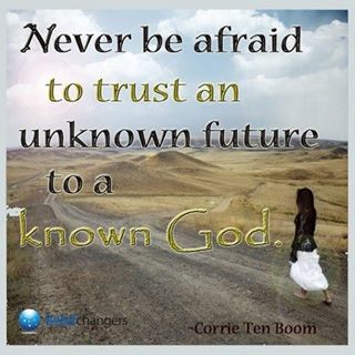 Trust God with all!
