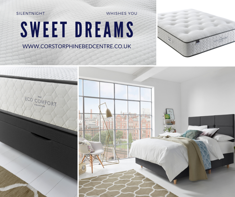 100 Sustainable And Highly Breathable In Nature Allowing For A Fresher Sleeping Experience Constructed Vertically To Of In 2020 Silentnight Healthy Sleep Home Decor