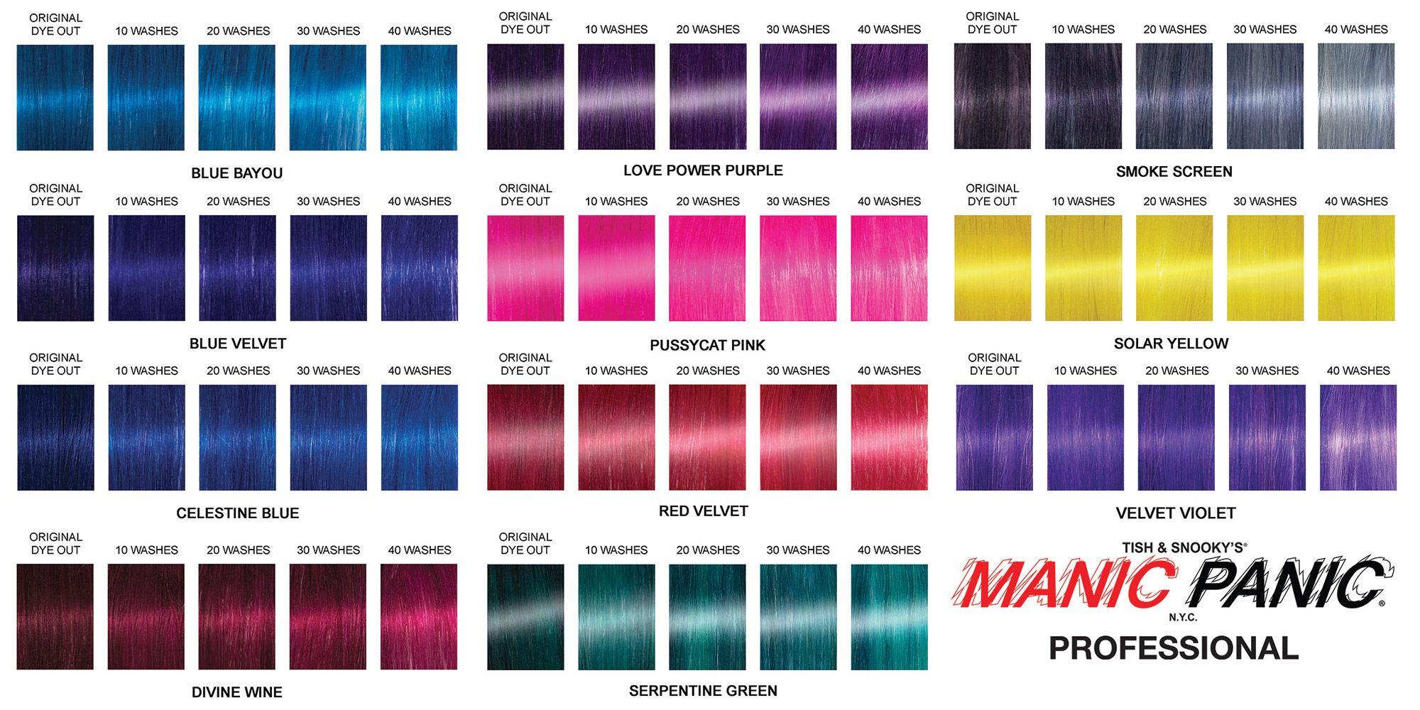 Manic Panic Mixing Colors   Novocom.top