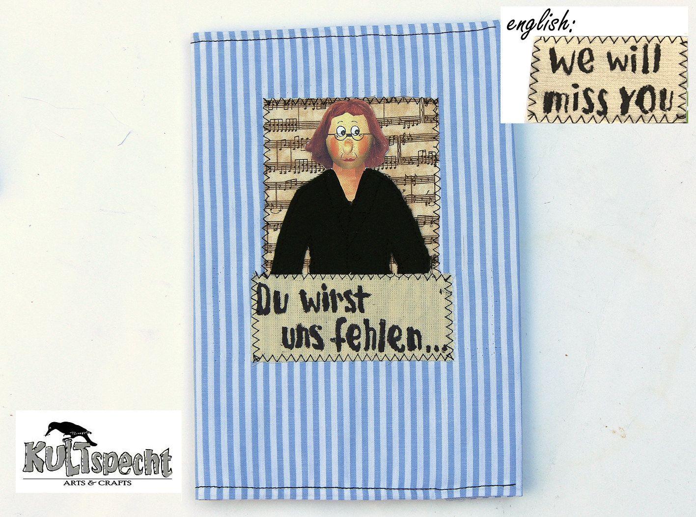 Abschiedsgeschenk Erinnerungsalbum, Geschenk Abschied Arbeitskollegin,  nettes Verabschiedungsgeschenk Frauen, Erinnerungen, Ruhestand von kultspecht auf Etsy