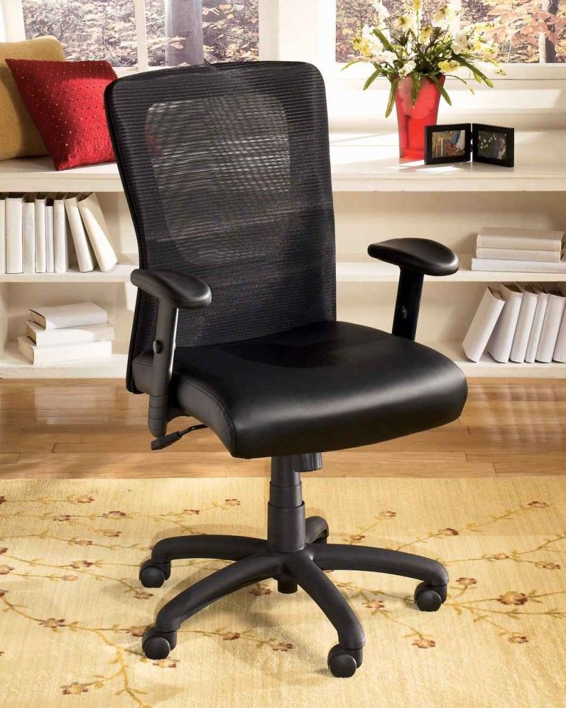 Black simple office chairs