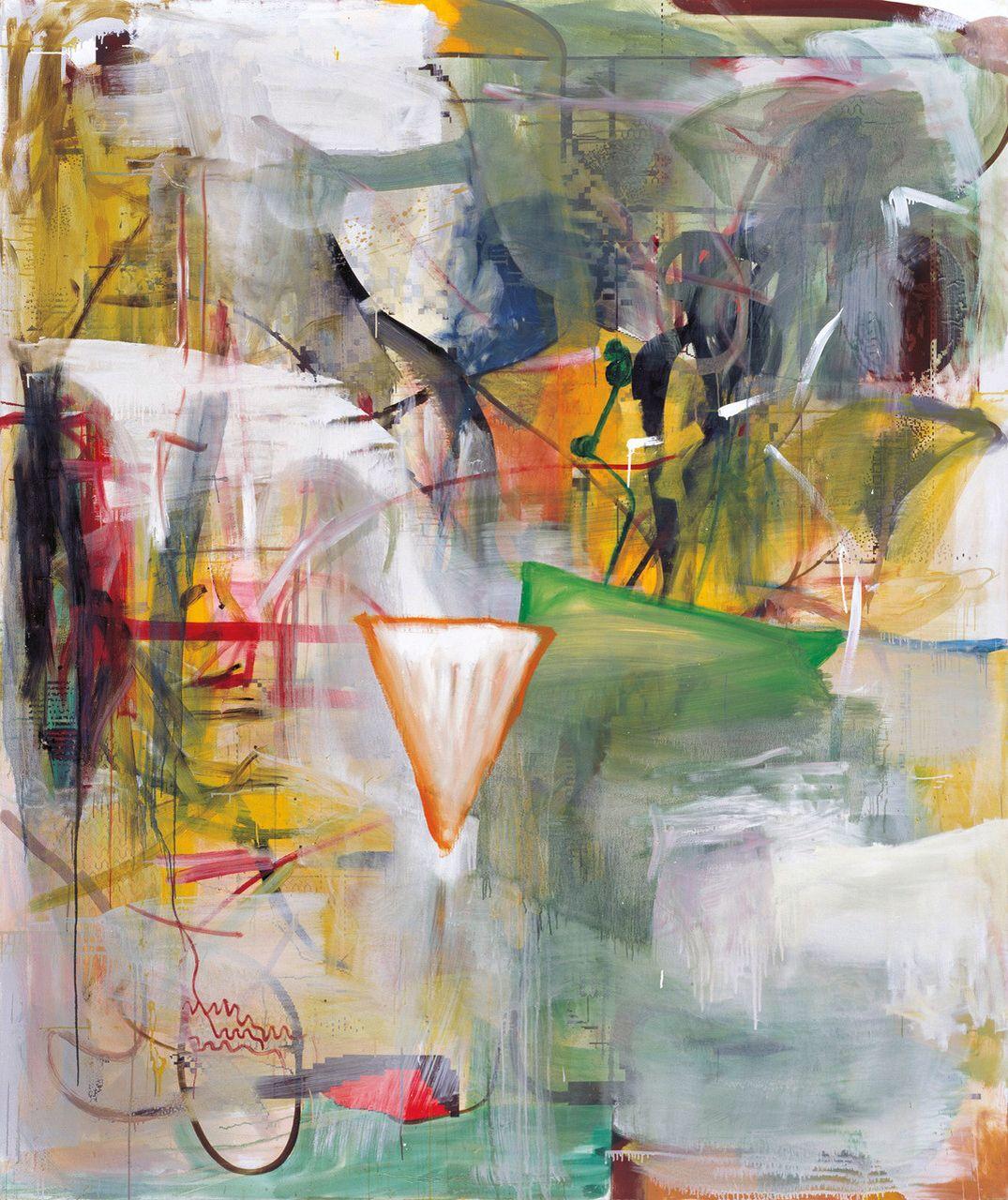 by Albert Oehlen | german contemporary artist / Albert Oehlen in