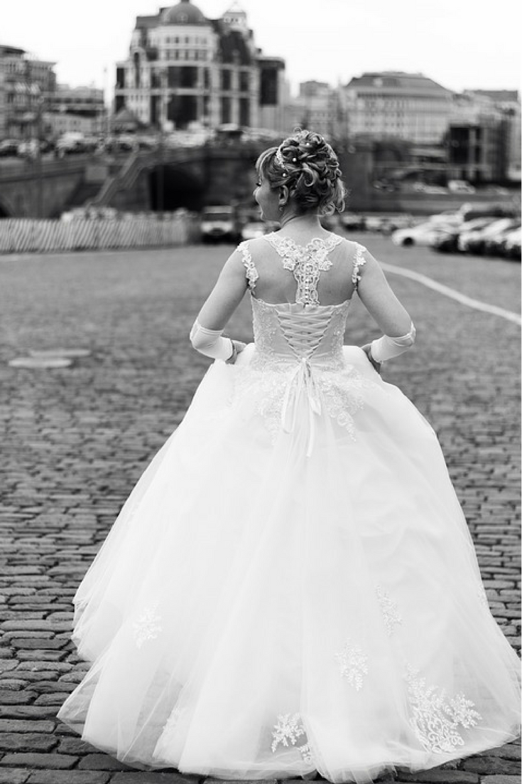Que significa vestido de novia en un sueno