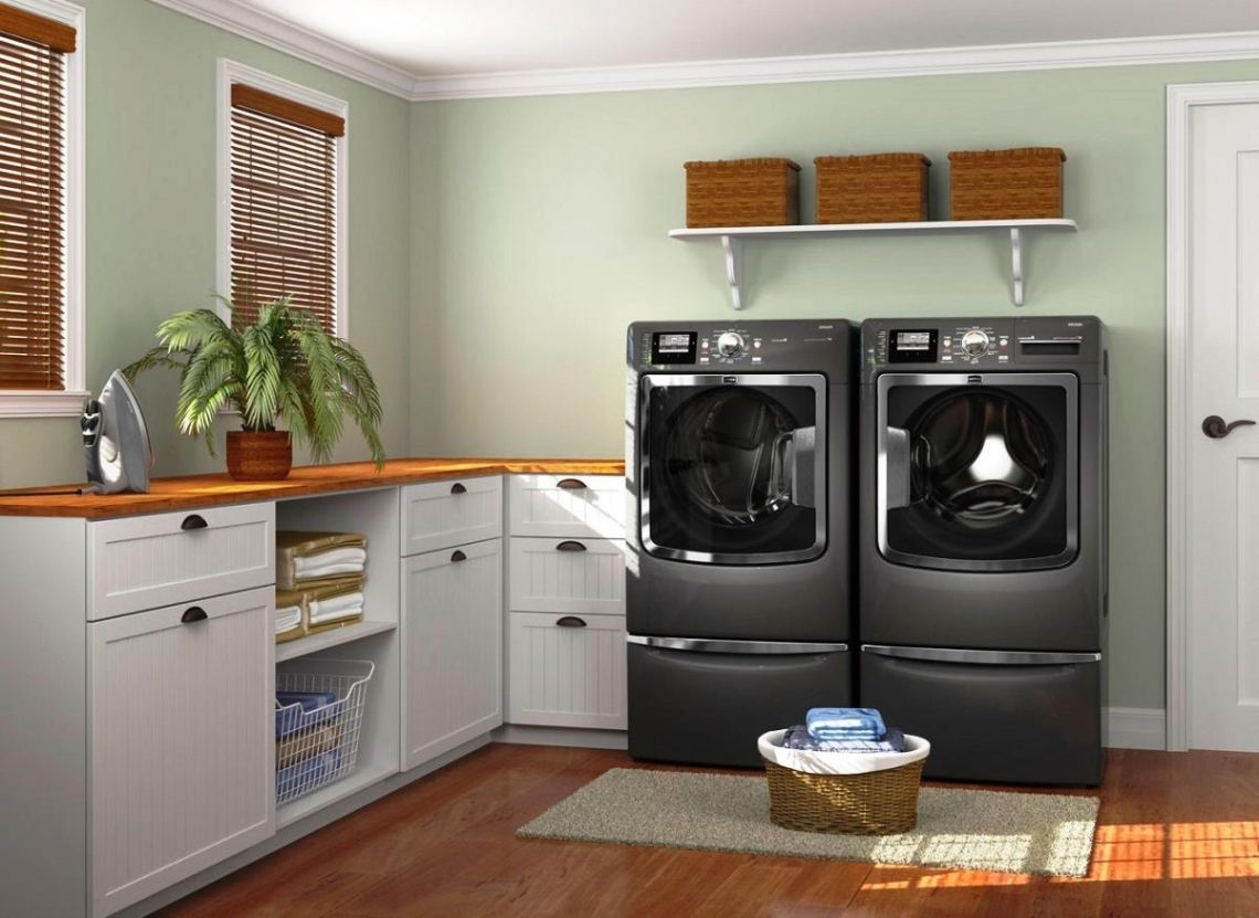 Idea Arredobagno ~ Cozy inspirations laundry room design from idea group