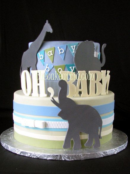 Oh, baby! Baby Shower Cake