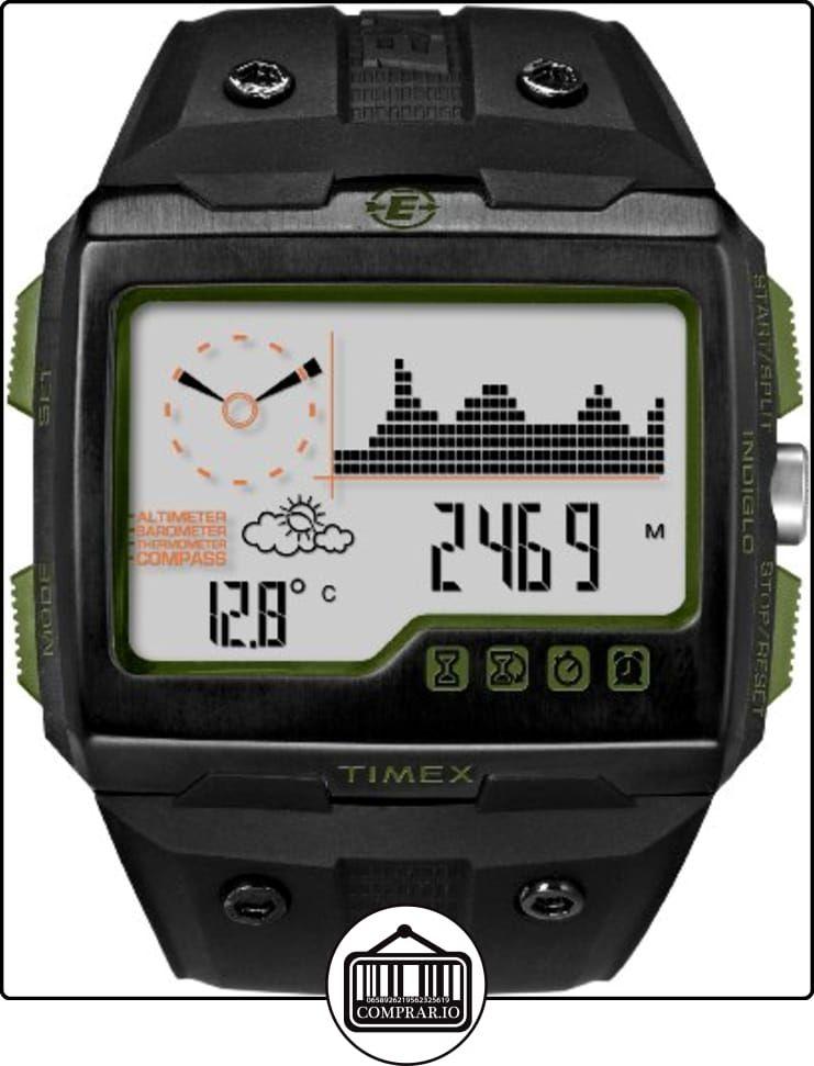 7e238ee93700 Timex Expedition WS4 T49664 - Reloj de pulsera con brújula y GPS de ✿ Relojes  para