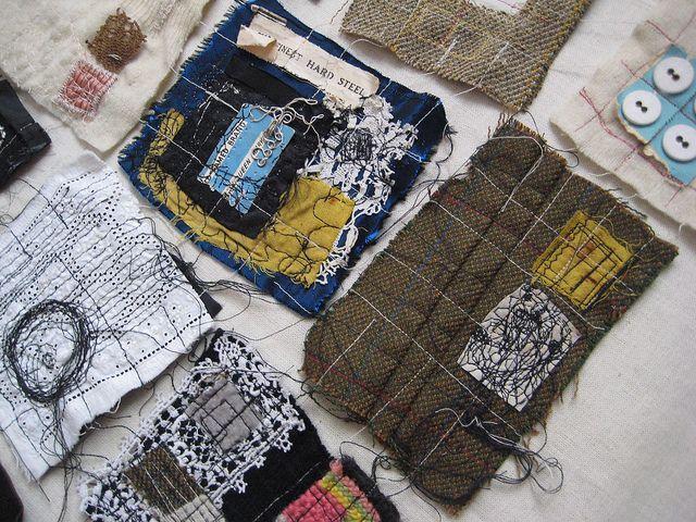 Textile Installation Detail by Katy Devereux - My art, via Flickr