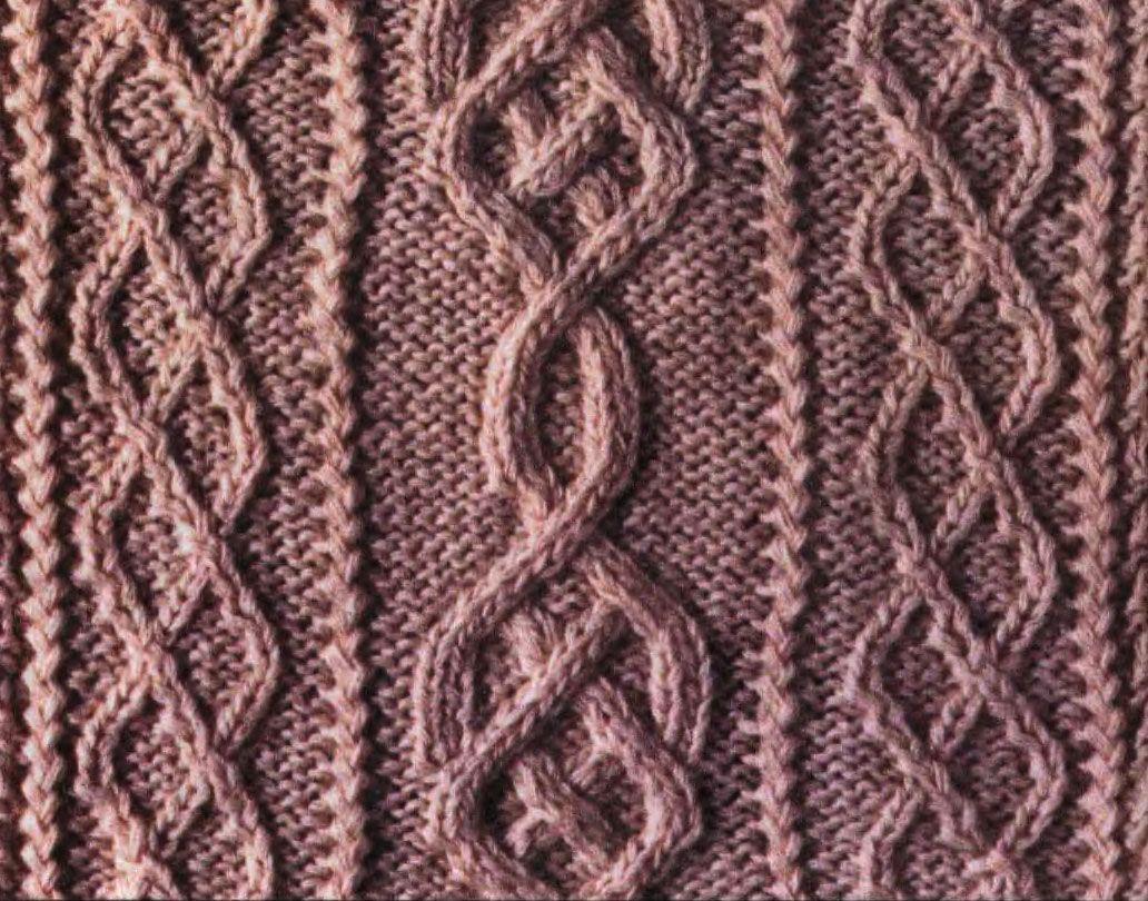 Aran Cable Knitting Stitch Free Pattern Chart More Great Patterns