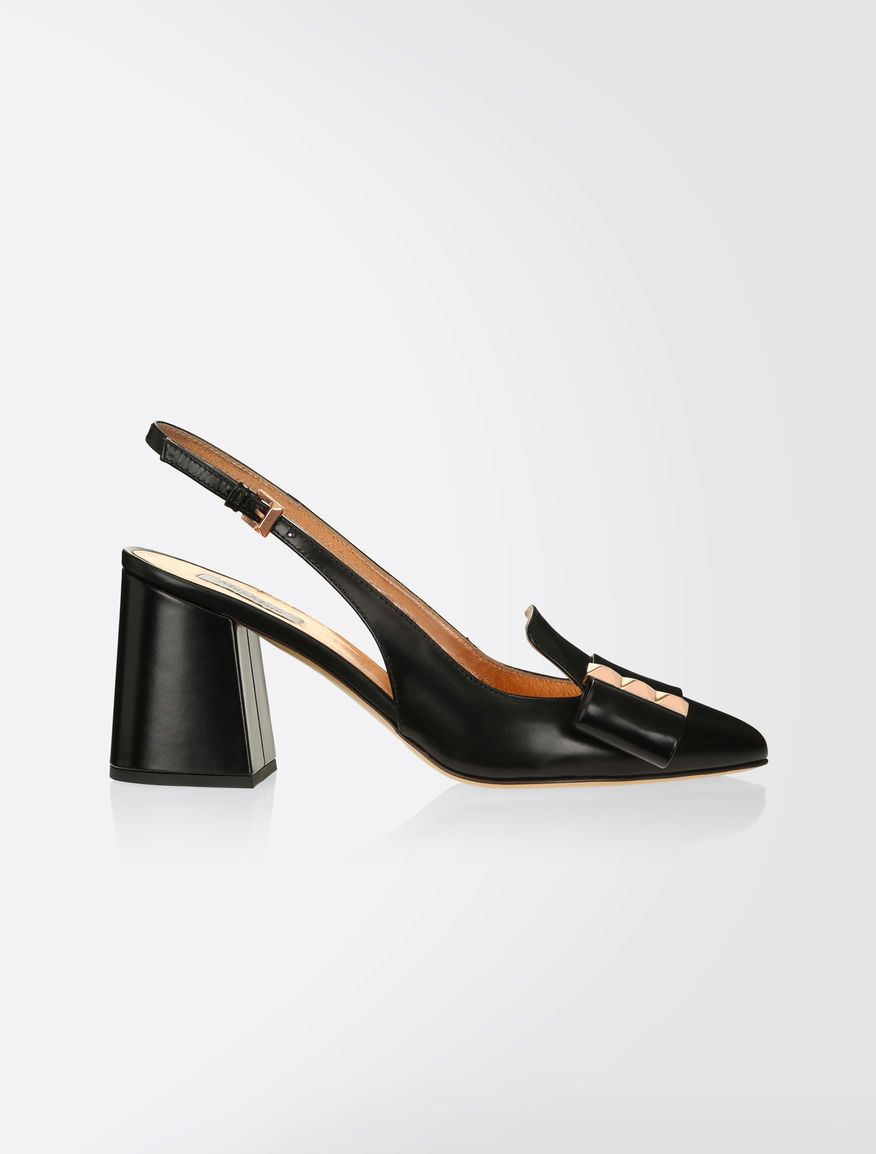 MaxMara Patent Leather Slingback Sandals best sale sale online cheap 2014 newest footlocker pictures cheap online buy for sale cheap huge surprise EJZ9m