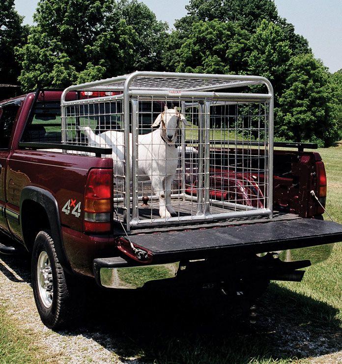 Tarter Goat Tote | Goat housing | Goat farming, Goat house