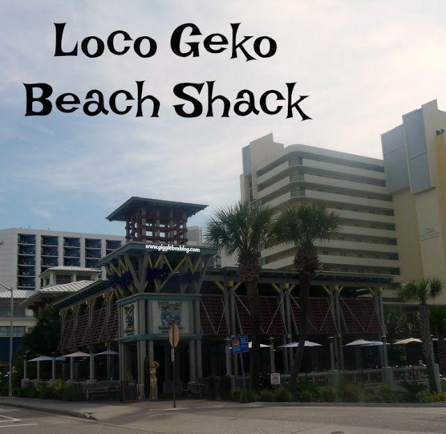 Loco Geko Beach Shack Beach Shack Myrtle Beach Beach