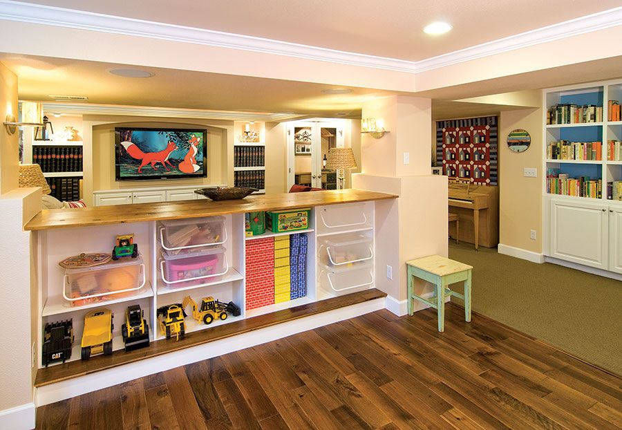 Finished Basement Ideas With Closets | Harlan Street Basement » Finished  Basement Company